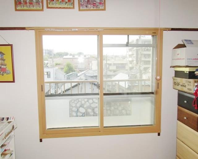 愛知県名古屋市緑区 内窓「インプラス」、硝子「Low-E複層ガラス グリーン」取付工事