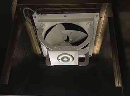 愛知県名古屋市 有圧換気扇の取り替えの施工事例 工事店 株式会社伊藤電氣工業