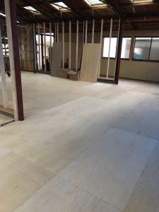 神奈川県大和市CP工法置床工事