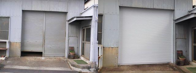 電動軽量シャッター取替え工事 愛知県名古屋市